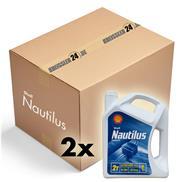 Karton 2x Shell Nautilus Premium TC-W3 4 Liter Outboard Zweitaktmischöl Bootsmot