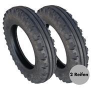 2 x REIFEN TF8181 + SCHLAUCH 6.50-16 ASF BKT 6PR ASF-Reifen ohne Felge TR218 Sch