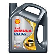 Shell Rimula Ultra 5W-30 4 Liter (E9/M3677/VDS-4) Low-Ash Hochleistungs-Dieselmo