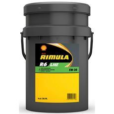 Shell Rimula R6 LME 5W-30 20 Liter (E6/E7/3677) Hochleistungs-Dieselmotorenöl fü