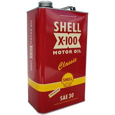 Shell X-100 5 Ltr Classic Motor Oil SAE 30 Premium