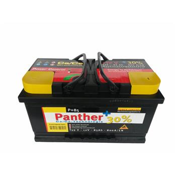 panther batterie 85 12v85ah 315x175x175 rechts. Black Bedroom Furniture Sets. Home Design Ideas
