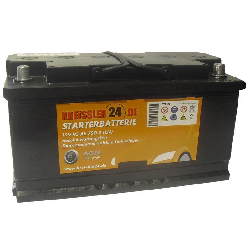 agm pkw batterie autobatterie 12v 95ah 88ah 90ah 100ah. Black Bedroom Furniture Sets. Home Design Ideas