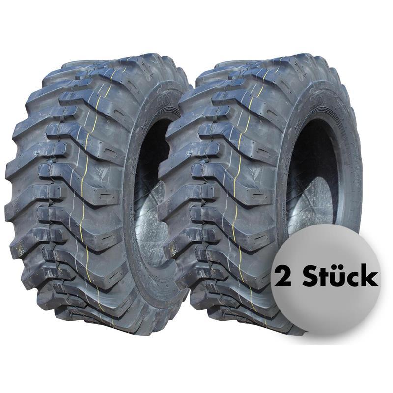 1875 kg Reifen für Radlader 2x Radladerreifen 10-16.5 8PR BKT 25 km//h