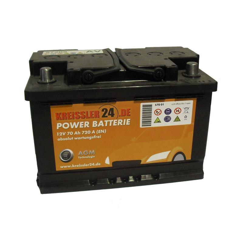 start stopp agm autobatterie 12v 70ah 57001 66ah 72ah 74ah. Black Bedroom Furniture Sets. Home Design Ideas