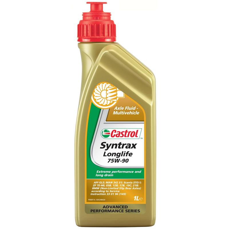 castrol syntrax long life 75w 90 1 liter vollsynthetisches achs getriebe l ebay. Black Bedroom Furniture Sets. Home Design Ideas