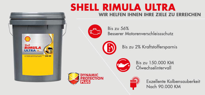 Shell Rimula Ultra - Dynamic Protection Plus