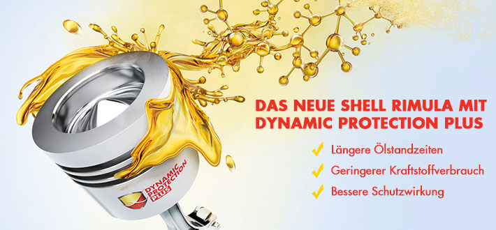 Shell Rimula Dynamic Protection Plus