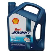 Shell Advance 4T AX7 10W-40 4 Liter 4-Takt SM/MA2