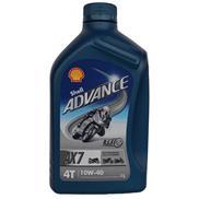 Shell Advance 4T AX7 10W-40 1 Liter 4-Takt-Öl VSX4