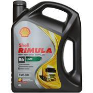 Shell Rimula R6 LME 5W-30 4 Liter (E6/E7/3677) Hochleistungs-Dieselmotorenöl für