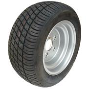 RAD 195/50B10 98N Trailermaxx 5Loch/ET-4 DOT2215 Felge 6.00 Ix10 ML67/LK112  (18