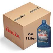 6 Stück - Shell Helix HX7 5W-40 1 Liter Motorenöl