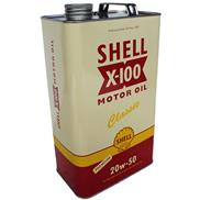 Shell X-100 5 Ltr Classic Motor Oil SAE 20W-50