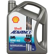 Shell Advance 4T Ultra 10W40 4 Liter 4-Takt SN/MA2