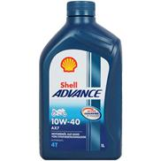 Shell Advance 4T AX7 10W-40 1 Liter 4-Takt SM/MA2