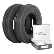 2x 3.50-8 4PR 3-RIB Vredestein V60 inkl. Schlauch