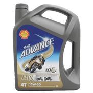 Shell Advance Ultra 4T 15W-50 4 Liter 4-Takt-Öl Motorradöl auf Synthesetechnolog