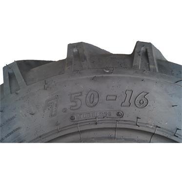 2 Stück - 7.50-16 8PR/112A8 BKT AS-504 TT