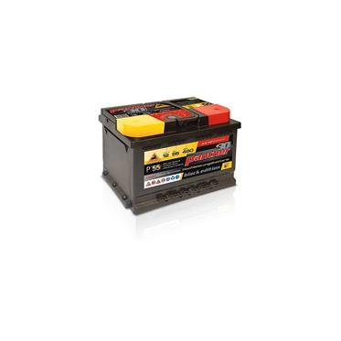 panther batterie 55 12v 55ah 480a 30. Black Bedroom Furniture Sets. Home Design Ideas
