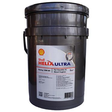Shell Helix Ultra Racing 10W-60 20 Liter PUREPLUS