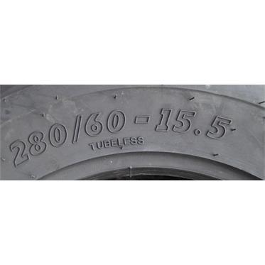 2x  280/60-15.5 115A8 AS BKT TR-678 TL