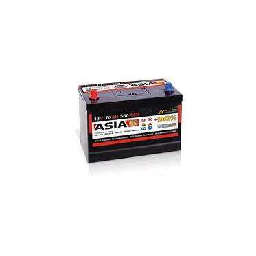 panther batterie asia 6 12v 70ah 230x170x225 links pkw. Black Bedroom Furniture Sets. Home Design Ideas