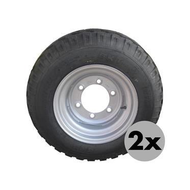 2xRAD 10.0/75-15.3 14PR AW 6Loch/ET-5/E2