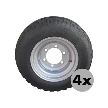 4xRAD 10.0/75-15.3 14PR AW 6Loch/ET-5/E2