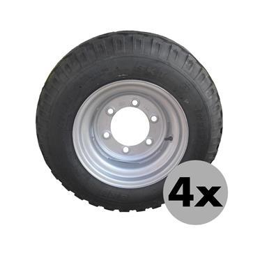 4 Stück - RAD 11.5/80-15.3 10PR BKT AW 6L/ET-5/E2