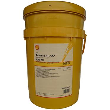 Shell Advance 4T AX7 10W-40 20 Liter 4-Takt SM/MA2