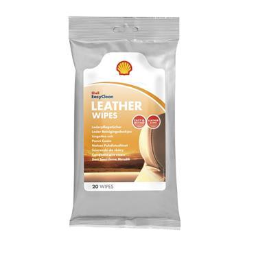 Shell Leather Wipes - Lederpflegetücher 20 Stück