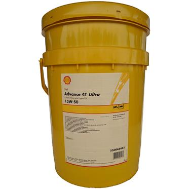 Shell Advance 4T Ultra 15W-50 4-Takt 20 Liter
