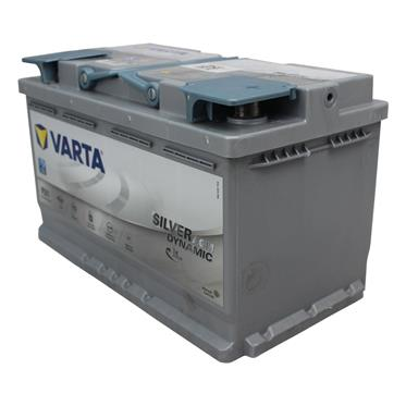 varta agm start stop batterie 12v80ah silver dynam. Black Bedroom Furniture Sets. Home Design Ideas
