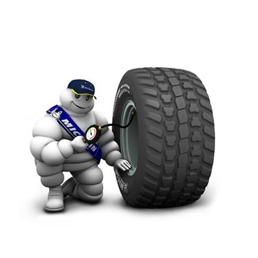 710/50R26.5 170D Michelin CargoXBib High Flotation