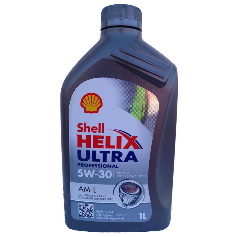 shell helix ultra professional am l 5w 30 1 liter kanister. Black Bedroom Furniture Sets. Home Design Ideas
