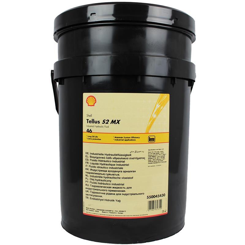 Top Shell Tellus S2 MX 46 HLP 20 Liter Hydrauliköl @QB_78