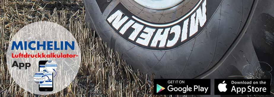Michelin Luftdruckkalkulator-App