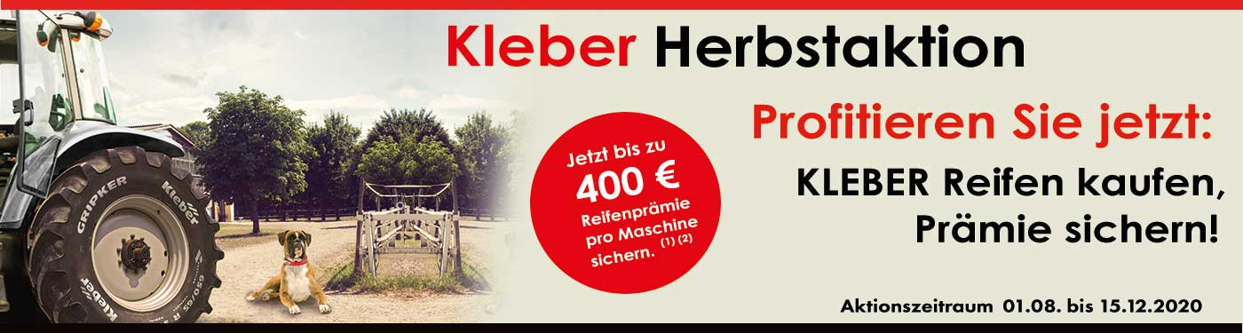 Kleber Herbstaktion
