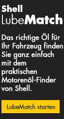 Shell LubeMatch - Das richtige Öl für Ihr Fahrzeug finden Sie ganz einfach mit dem praktischen Motorenöl - Finder von Shell.
